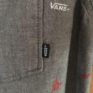 Vans Shirts - VANS BUTTON UP CASUAL SHIRTS SIZE MEDIUM
